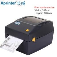 20mm 108mm sticker Bar code Printer Thermal USB Barcode Label Printer Thermal Adhesive Label Printer Express Label Printer