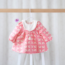 Free Shipping,2 colors,2015 New baby girls fashion princess outerwear,children coats tops,Wholesale
