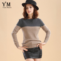 Hot Sale Women Sweater Autumn Casual Striped Cashmere Sweater Fashion Pullover Spring Tops Knitwear Undershirt Plus