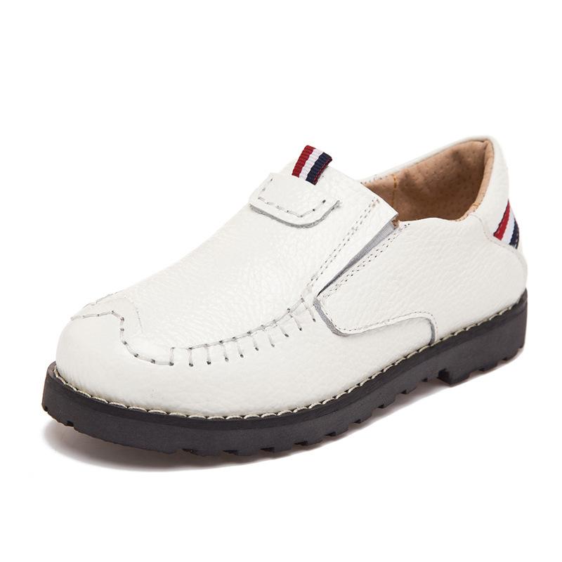 Kid Genuine Leather Wedding Dress Shoe for Big Boys Brand Yellow Children School Shoes for Boy Black Wedding Shoes Boys Footwear