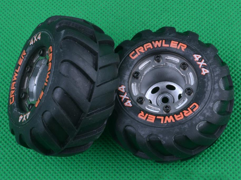 <font><b>HBX</b></font> <font><b>2098B</b></font> HBX2098B 1/24 4WD Mini Car Spare <font><b>Parts</b></font> Side plate tire tyre 4pcs image