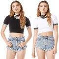 Unif Cartas Ranger Dollskill Tee Tops Mujeres Camisa Corta Camisetas High Street Casual Tallas grandes Camisetas para Mujeres Reales de Fotos Al Por Mayor