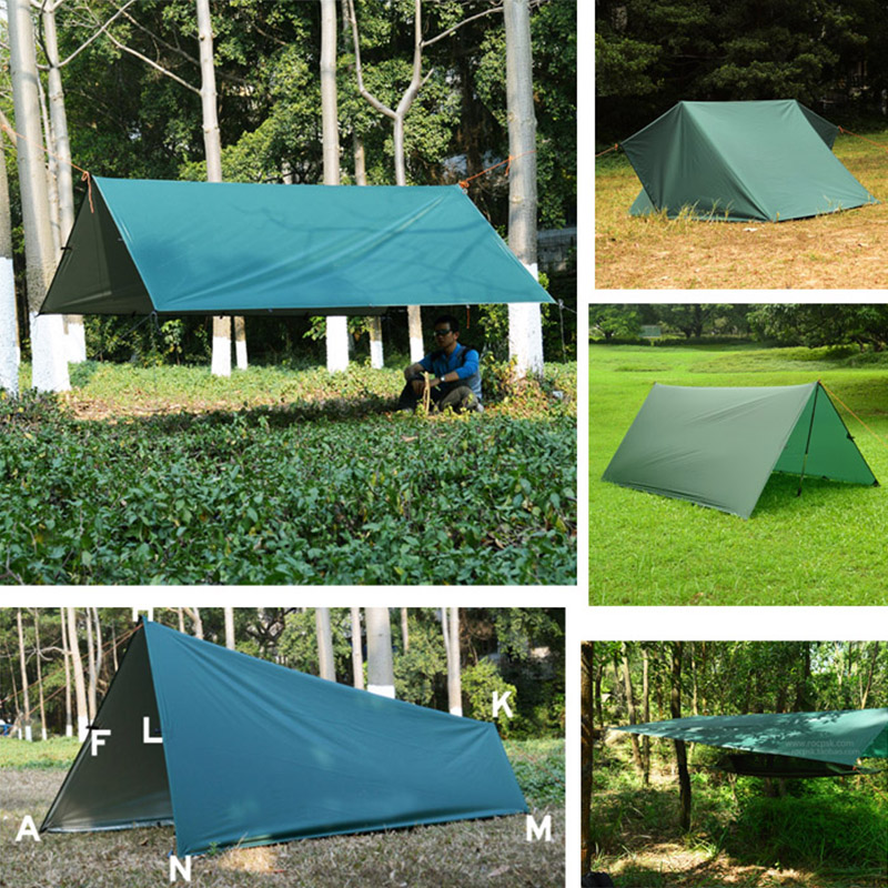 3F UL GEAR Ultralight Tarp Outdoor Camping Survival Sun Shelter Shade Hammock Rainfly Picnic Blanket Waterproof