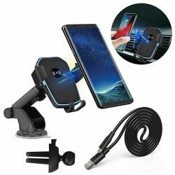10W QI bezprzewodowa szybka ładowarka uchwyt samochodowy uchwyt stojak na iPhone'a XS Max Samsung S10 S9 3E22
