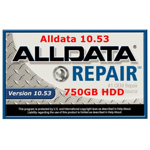 Alldata hdd 750gb usb usb 3.0 harddisk alldata auto repair software fit for windows 7/8/10 systems All data car repair software