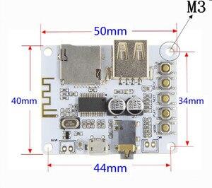 Image 3 - Bluetooth Audio tablica odbiorcza z USB gniazdo karty TF odtwarzanie dekodowania wyjście przedwzmacniacza A7 004 5V 2.1 bezprzewodowy muzyka Stereo moduł