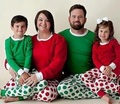 Family Christmas Pajamas Xmas Clothing Sets Mother Daughter Father Son Pajamas Clothes Family Clothing Family Style Set LG8