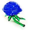 Crystal 3D Furnish Blue Rose Cube IQ Gadget Jigsaw Puzzle Cute Souptoys FCI#