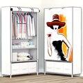 Минималистичная креативная сборка экономит пространство  вмещает Современные портативные гардеробы  мебель для спальни  многофункциональ...