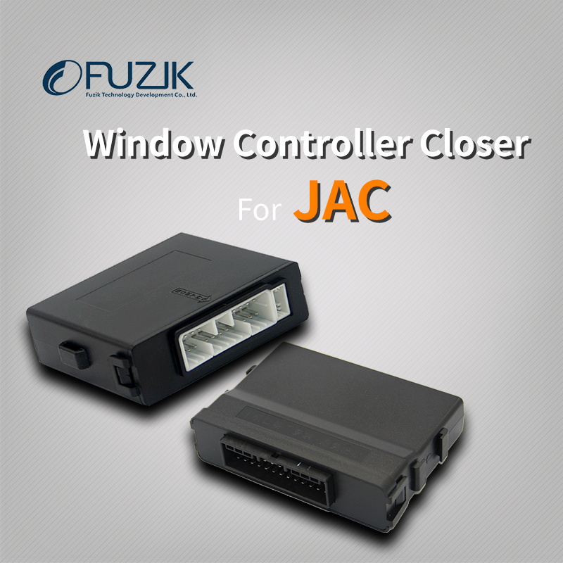 Fuzik Car Power Automatic Roll Up Window Closer Opener One Touch Up Down Remote Gap For Jac Rein Refine S2 S5
