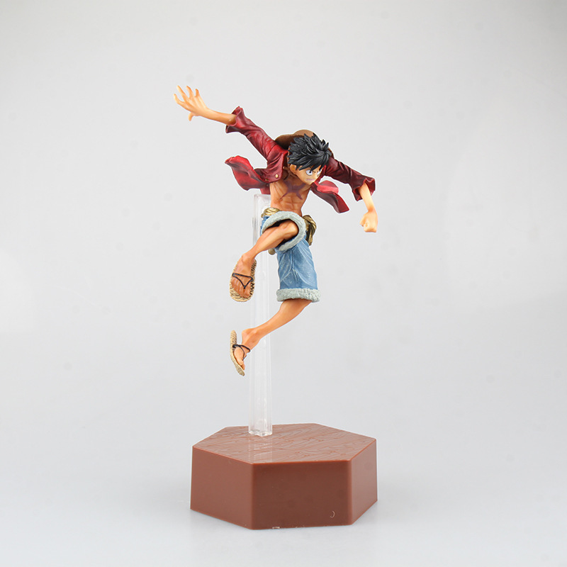 anime one piece luffy arrogance fight frame model garage kit pvc action figure classic collection doll toy anime one piece ainilu handsome action pvc action figure classic collection model tot doll