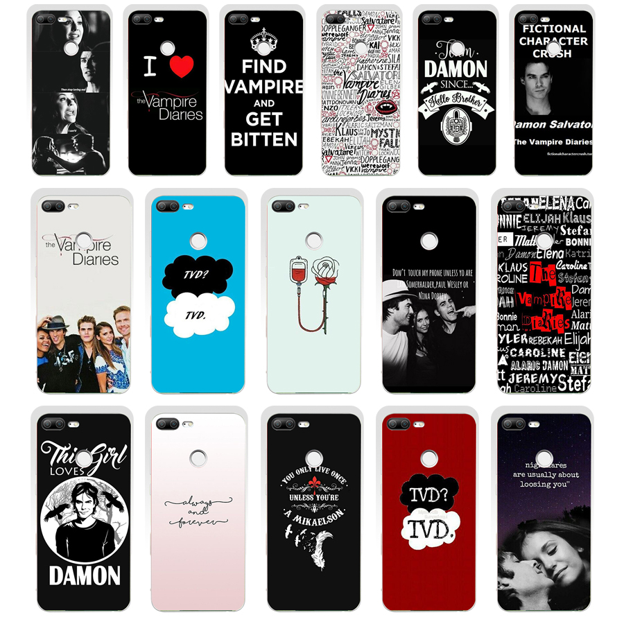Cover Phone-Case Huawei Honor Vampire Diaries 9-Lite Soft-Silicone For 124SD 02 Tpu The