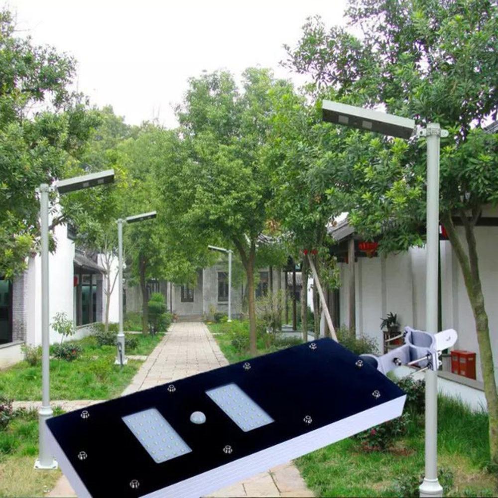 6V 13W Led Solar Street Light Outdoor Motion Sensor Street Lights IP65 Waterproof 56 Leds Solar Panel Street Light Garden цена