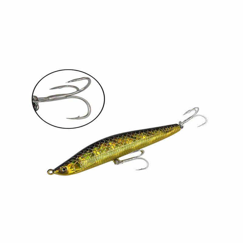 1 unids/pack barato lápiz atraer 10cm 25g buena calidad mar rizos cebo español caballa gancho bajo cebo artificial para carpa pesca abordar