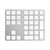 34 34 Keys Bluetooth Wireless Numeric Keypad Mini Numpad with More Function Keys Digital Keyboard For PC Macbook Number Pad Mini (2)
