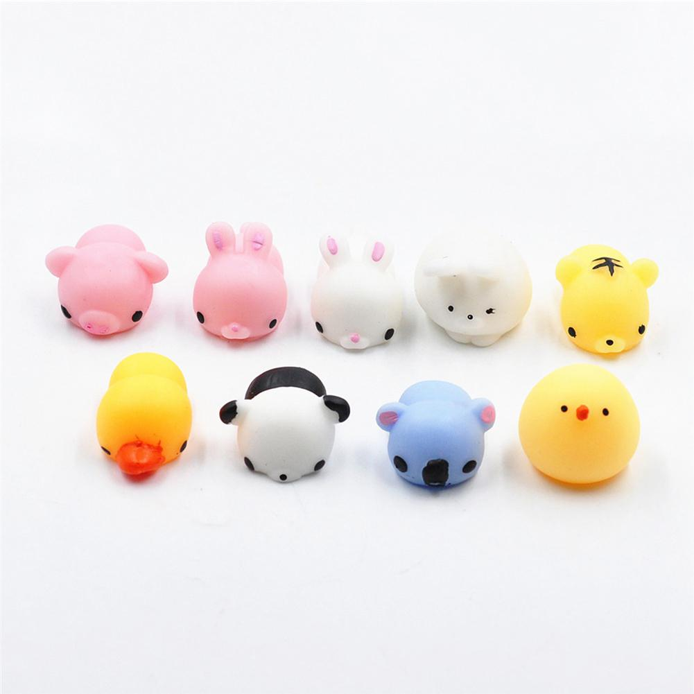 Mochi Mini Squishy Animals Toys,Random Toy For Collection Gift, Decorative Props Or Stress Relief Stress Reliever Toys
