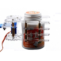 High Quality Acrylic Robot Arm Clamp Claw With 9G Servo For Arduino DIY Kit Free Shipping