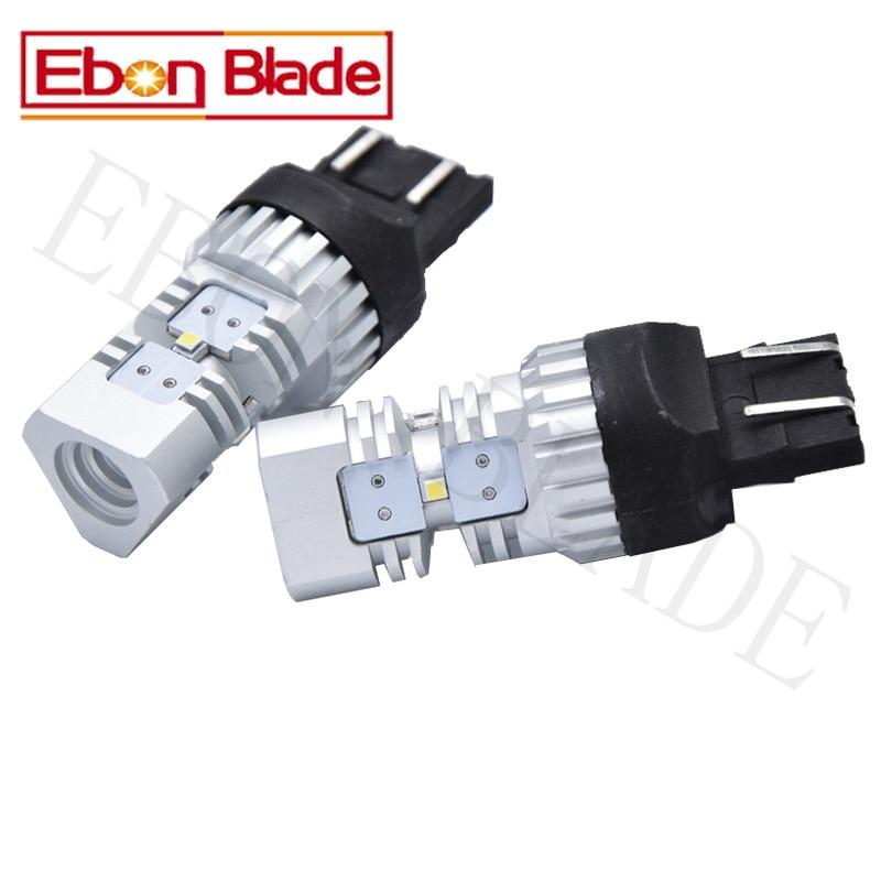 2Pcs T20 7443 7440 W21W W21 5W LED Car Bulbs CSP G8 15W Canbus Error Free