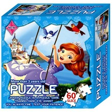 Cartoon Paper Jigsaw Puzzle Toys For Kids Games Toy Princess Educational Puzzles For Children Learning Lowest Price Dropshipping