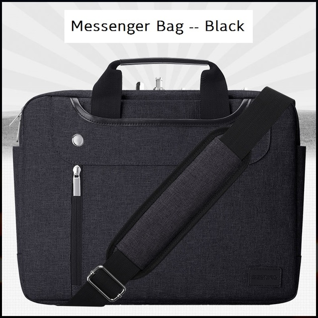 Bestjing 11-15.6 Inch Laptop Sleeve Case Cover Bag For Mackbook Pro Air Surface Book Women Mens Messenger Handbag