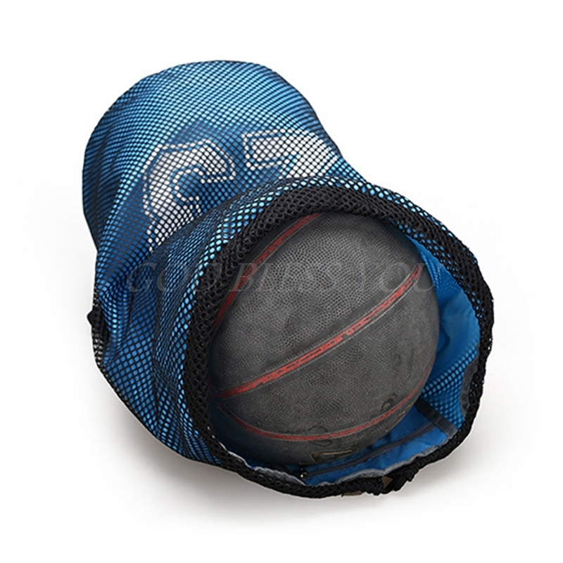 Basketball Bags For Balls Soccer Drawstring Fitness Outdoor Basketball Backpack Easy To Repair