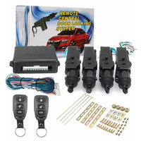 New Universal Car Remote Control Central Door Locking System Kits DC 12V Vehicles Anti theft Alarm Keyless Entry System