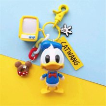 The New 2019 IVYYE Donald Duck Couple Anime Key Chain PVC Figure Morty Keyring cute Toy Keychain Keyholder Birthday Gifts Unise