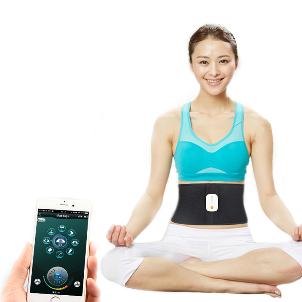 Rechargeable slimming muscle Stimulator Massager belt Bluetooth Control Tens Muscle Relax Traine For The Body Pulse FitnessRechargeable slimming muscle Stimulator Massager belt Bluetooth Control Tens Muscle Relax Traine For The Body Pulse Fitness