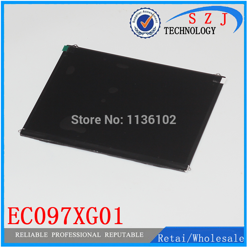 Original 9.7'' inch LCD Display Screen Panel Repair Parts Replacement For tablet pc EC097XG01 V5 V2 Free shipping repair parts replacement speakers for psp 1000 2 piece set