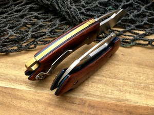 Image 5 - LCM66 D2 staal Vouwen Mes, Rode schaduw hout Survival Messen, Zeer sharp Mini Rescue Zakmes, gift Sleutel mes Gereedschap