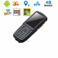 All in One Good Quality 3.5 Inch Touch Screen Black Color Android PDA with NFC RFID Reader,WIFI,3G and 1D or 2D Scanner Optional