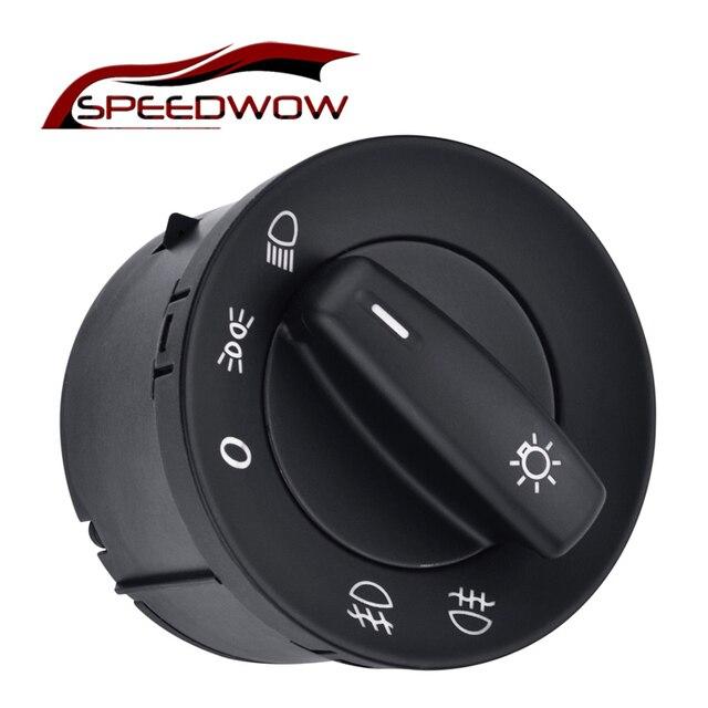 Auto Car Headlight Switch Fog Lamp Switch Knob For VW Caddy III Touran Jetta Golf V VI 5 6 Jetta Passat B6 CC Rabbit 1K0941431Q