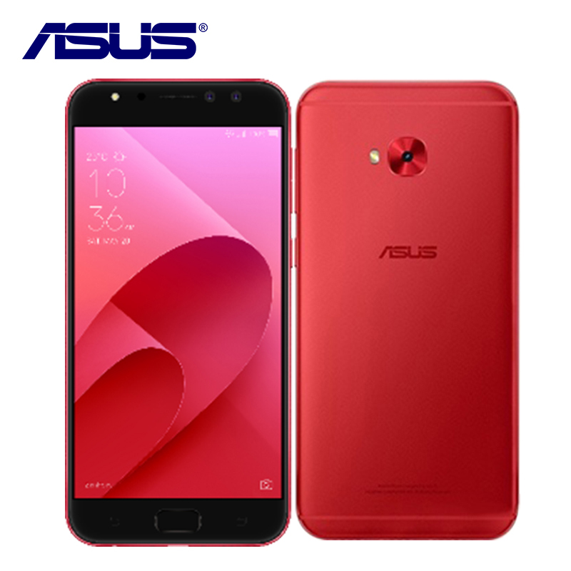 New ASUS ZenFone 4 Selfie Pro ZD552KL 4G RAM 64G ROM 24.0MP 3 Camera 5.5inch Octa Core Dual Sim 3000mAh Fingerprint Mobile Phone