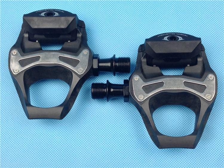 Shimano 5800 Pédales SPD SL Carbone Pédales & Flottant Crampons PD-5800-C CARBONE Avec Crampons vélo pédales route 105 pédale