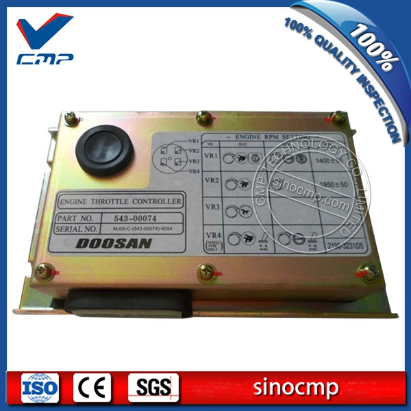 S225 V Drive Panel 300611 00123 543 00074, Engine Throttle Controller For Doosan Excavator