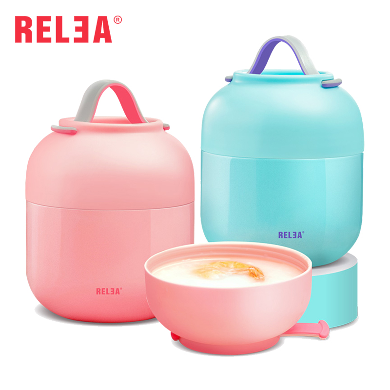 relea brand insulated food jars thermoses 500ml stainless steel insulated food container vacuum. Black Bedroom Furniture Sets. Home Design Ideas