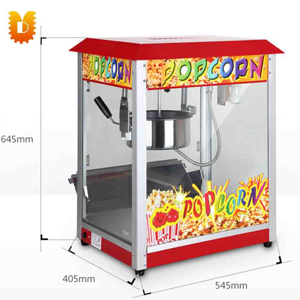 Automatic Popcorn Maker  machine for Commercial Household pop 06 economic popcorn maker commercial popcorn machine with cart
