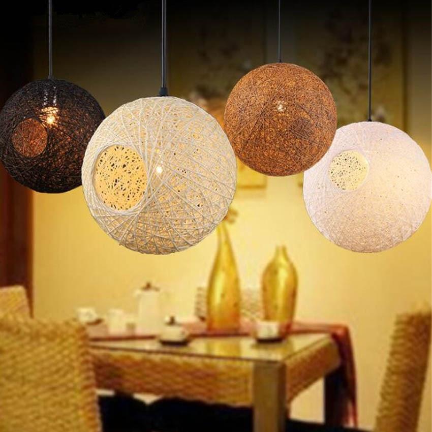 nordic simple orb clear glass pendant lighting. modern nordic simple rope ball led pendant lampe27 base lights for restaurant bar orb clear glass lighting t