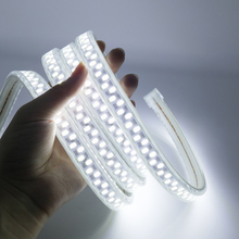 IP67 Waterproof 220V LED Strip SMD 5730 180LEDs/m 1M-10M super bright Flexible Light for Indoor Outdoor Lighting