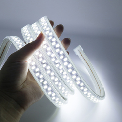 IP67 Водонепроницаемый 220V Светодиодные ленты SMD 5730 180 светодиодов/м 1 м-10 м супер яркий гибкий светильник для дома и улицы светильник ing