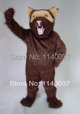 mascot Plush Material Wolf coyote Mascot Costume Adult Size Cartoon Character carnival costume fancy Costume