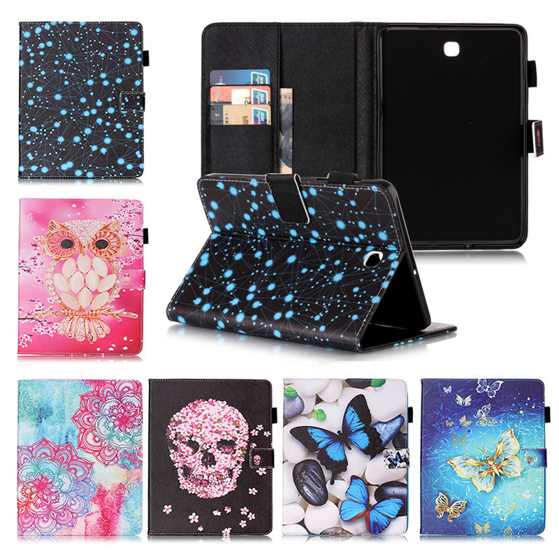 For Samsung Galaxy Tab S2 8.0 SM T710 T715 T715N Tablet cases Flip PU Leather Stand case Cover For Samsung Tab S2 8.0+Film+Pen Price $12.99