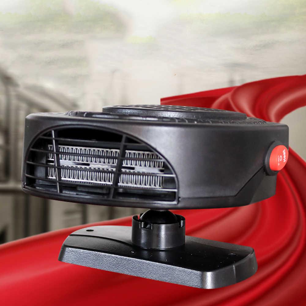 Mini 1 stücke 12/24 v Tragbare Auto Auto Innen Winter Heizung Heizung Windschutzscheibe Windows Defroster Demister Elektrische Fan
