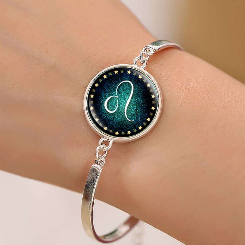 1PC Fashion Creative Charming Unisex Adjustable 12 Constellation Bracelet For Women Men Bangles ...