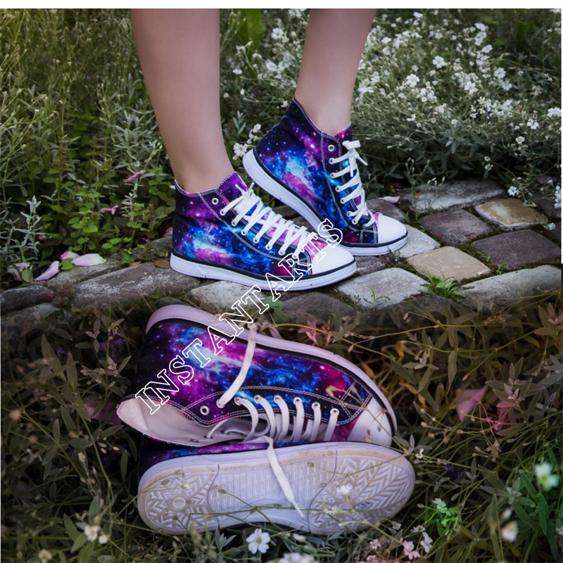 INSTANTARTS Mode Anime Dragon Ball Z Drucken Herren High-top - Herrenschuhe - Foto 4