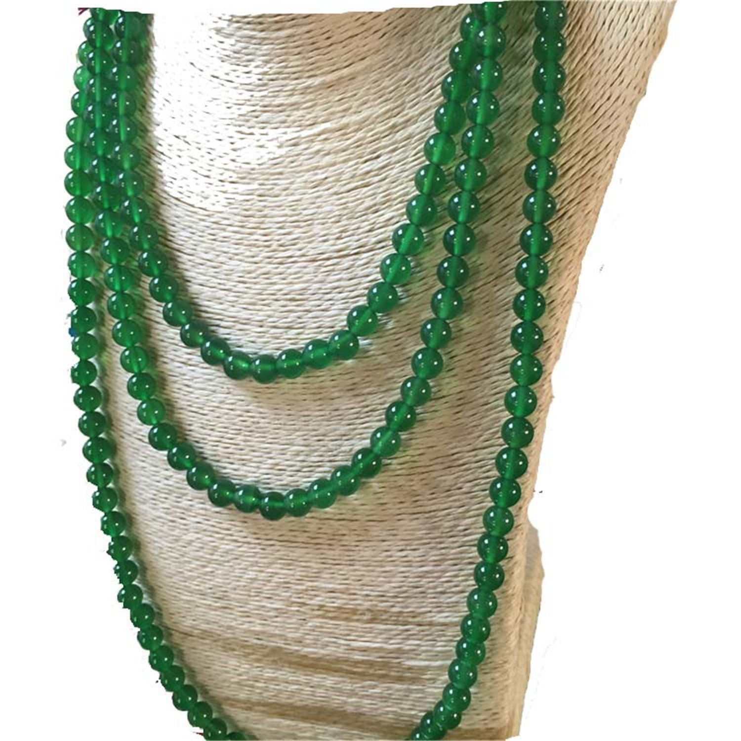 Koraba Fine Jewelry Natural Green Chalcedony Necklace Sweater Chain Pendant Free Shipping 500g natural organic moringa leaf pow der green pow der 80 mesh free shipping