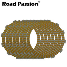 Road Passion 8pcs Motorcycle Clutch Friction Plates Kit For BMW K1300R R1200S K1200R K1200 K1300 K 1200 1300 R R1200 S motorcycle cnc aluminum plastic front frame slider guard protector crash pads fit for bmw k1200r k 1200 r k1300r k 1300 r
