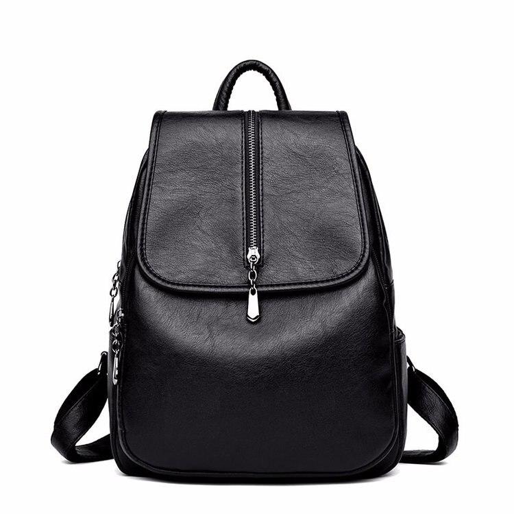 58fc60233db3 2018 женский рюкзак высокого качества для отдыха рюкзак из искусственной  кожи Mochila Mother винтажные сумки с верхней ручкой рюкзаки модный рюкзак