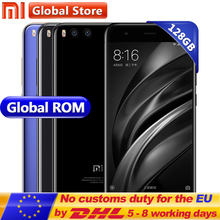 "Original Xiaomi Mi6 Mi 6GB 128GB Mobile Phone Snapdragon S835 Octa Core 5.15"" 1920*1080 Dual 12.0MP 3350mAh Android Smart Phone(China)"