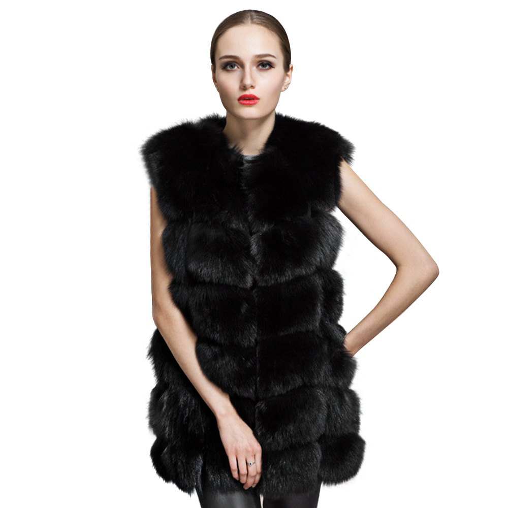 Online Get Cheap Long Black Fur Coat -Aliexpress.com | Alibaba Group